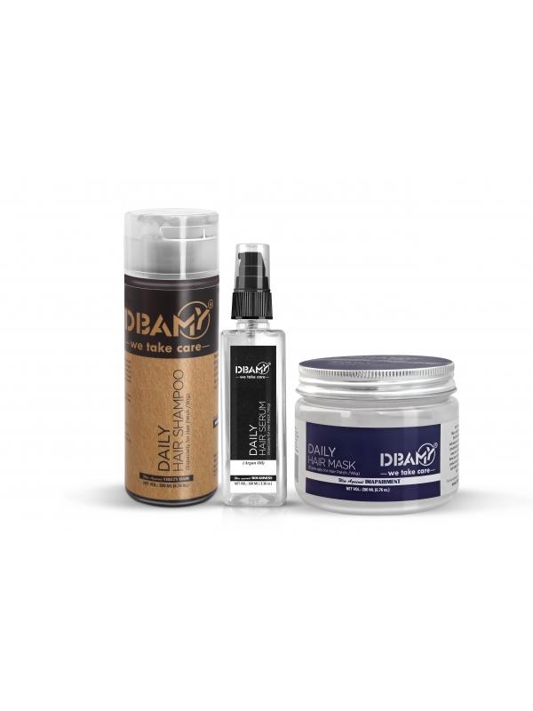 DBAMY Hair Kit with Argan Oil Serum